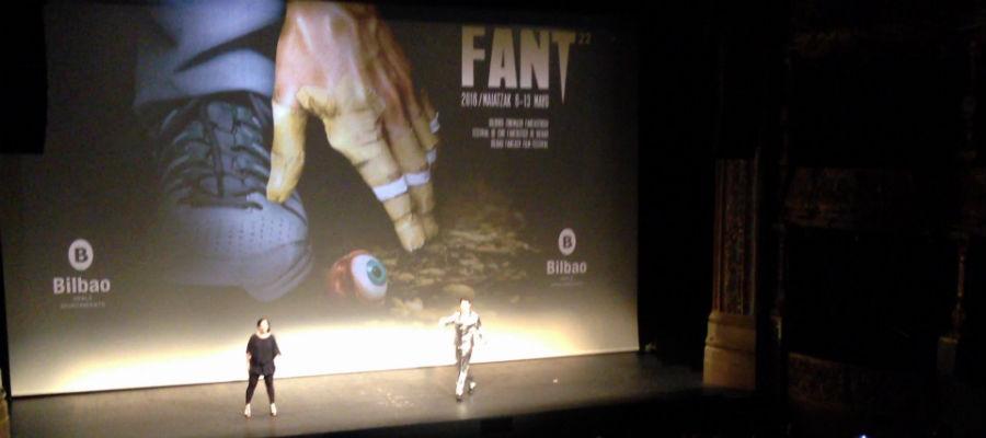Captura de vídeo del FANT 22, 2016
